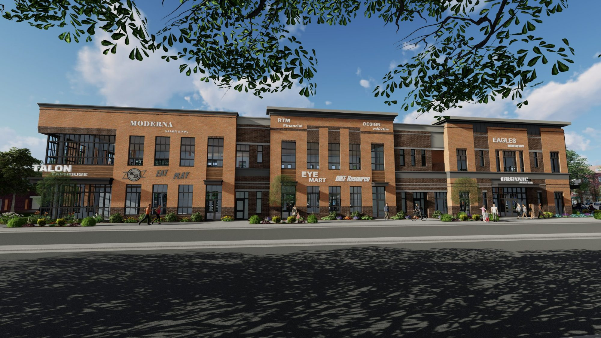 Cherry Road & Oakland Avenue Mixed-Use Development